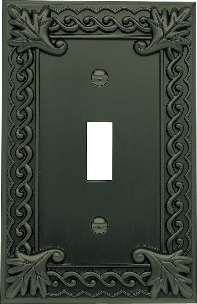 home u003e switchplate covers atlas homewares venetian single toggle switchplate in oil outlet coverswall