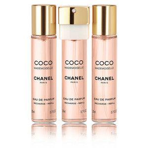 My favorite! Chanel  Coco Mademoiselle  Twist spray  $95 Sephora in-store (Barton Creek Mall)