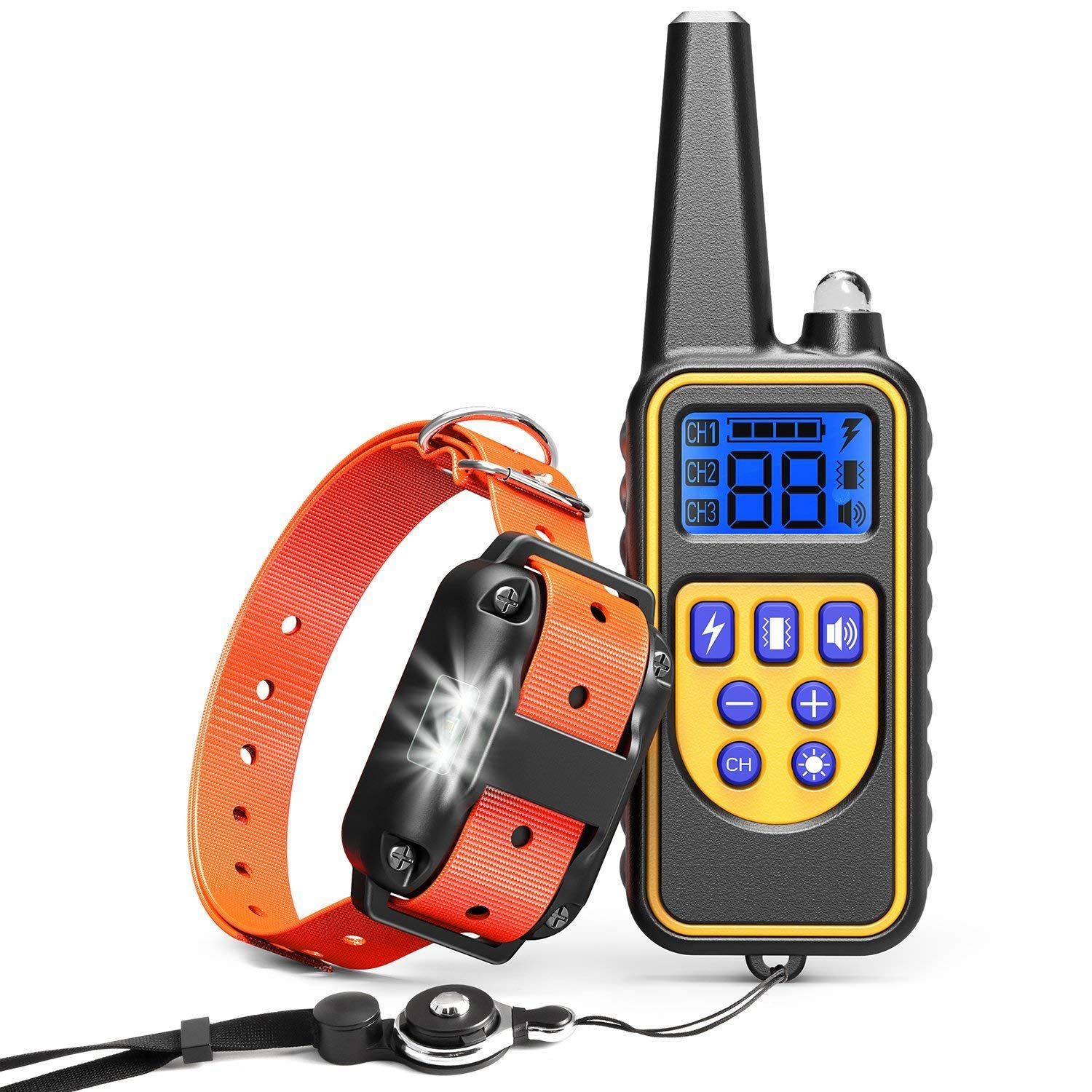 Cambond Shock Collar For Dogs Waterproof Dog Training Collar With