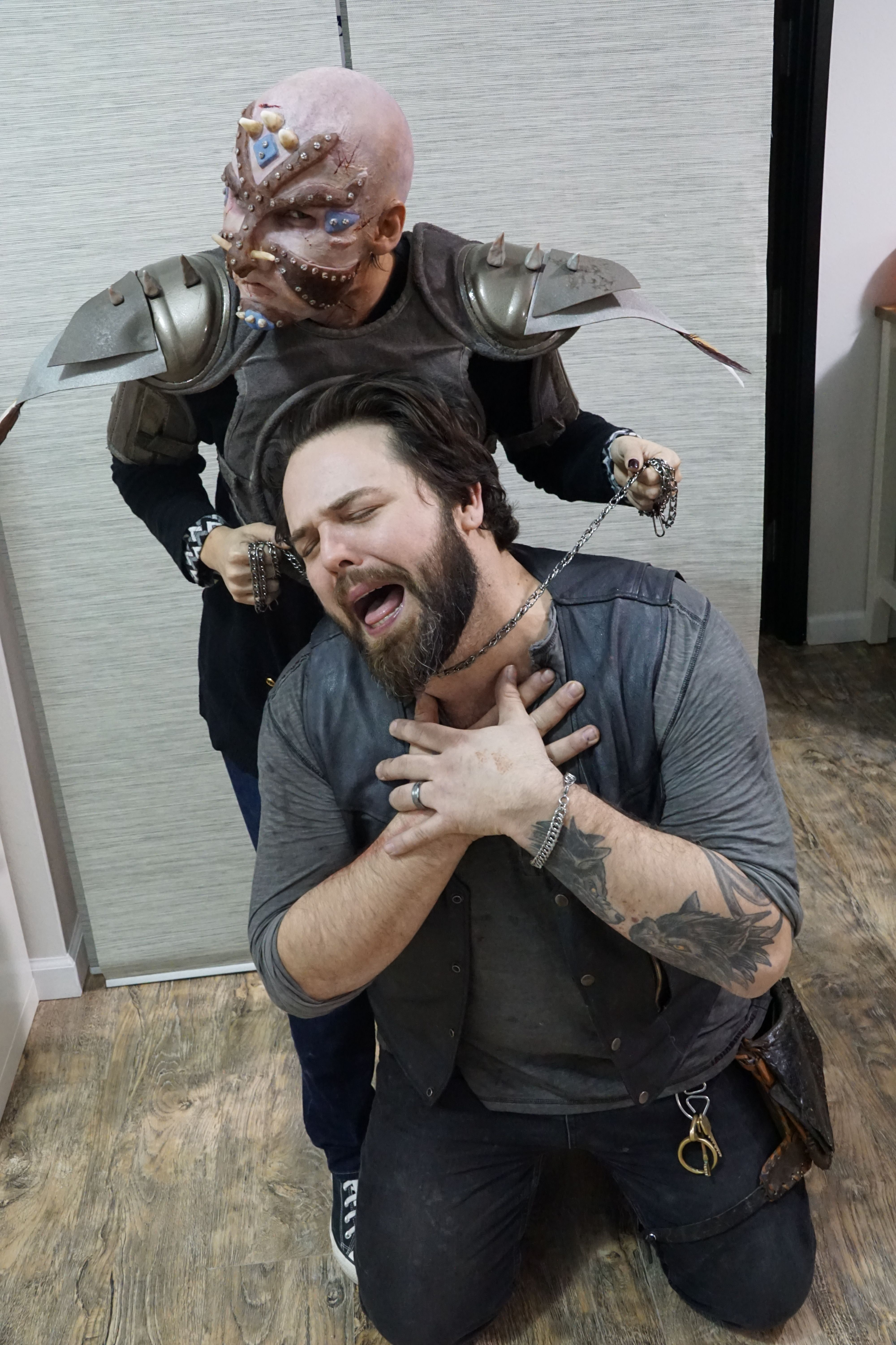 5 DAY SILICONE PROSTHETIC WITH FACE OFF'S TATE