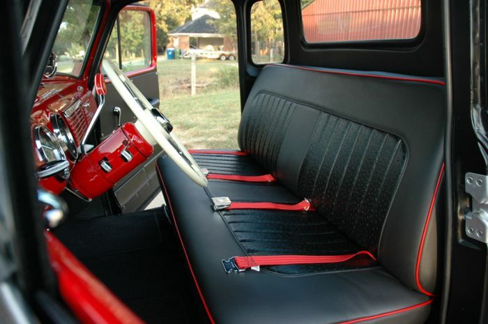 1956 Chevy Pickup Interior Google Search Cars 1952