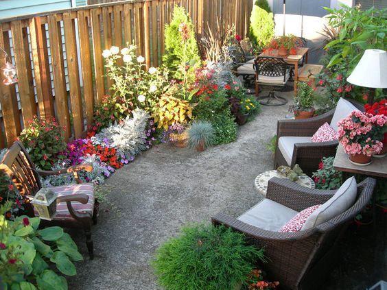 decoracion terraza pequeña Hazlo tú mismo/Artesanías Pinterest