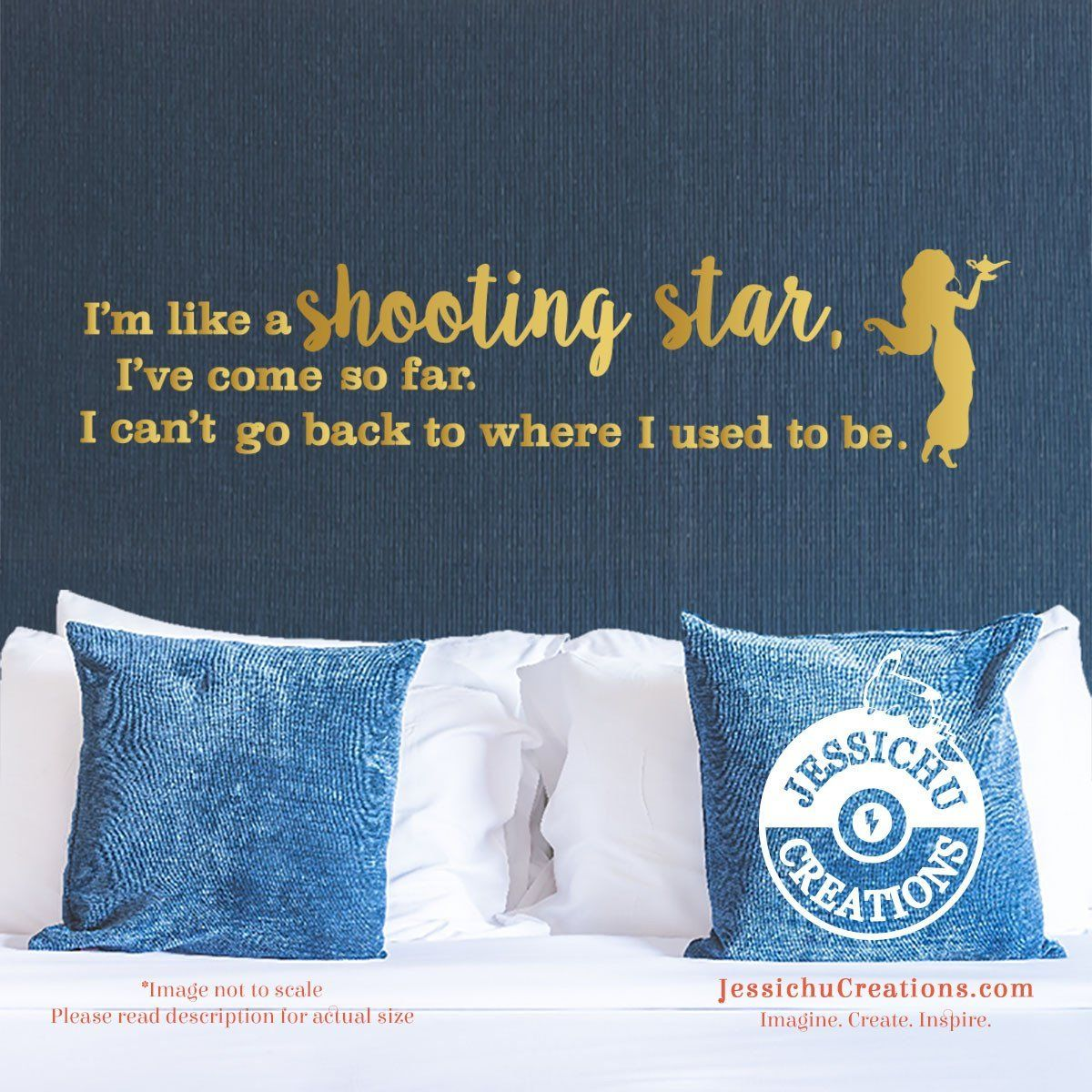 I M Like A Shooting Star Aladdin Inspired Disney Quote Wall