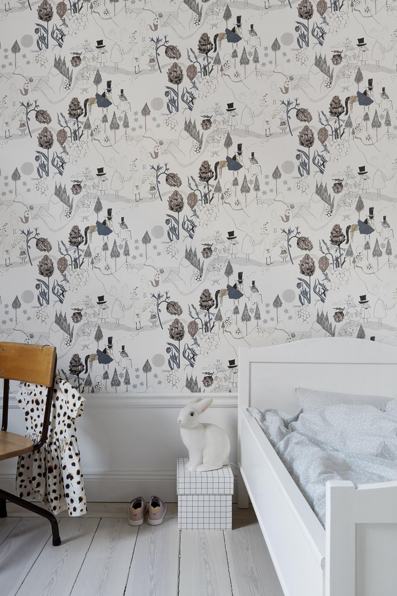 Leuk Behang Kinderkamer.Leuke Kinderkamer Met Leuk Behang Wallcoverings Kids Room