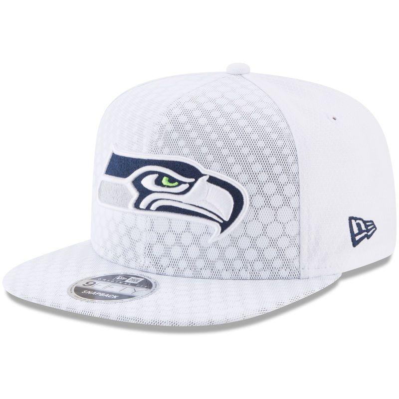 fa7a9c1580ba4f ... aliexpress seattle seahawks new era 2017 color rush kickoff 9fifty  snapback adjustable hat white dd4df 4b54d