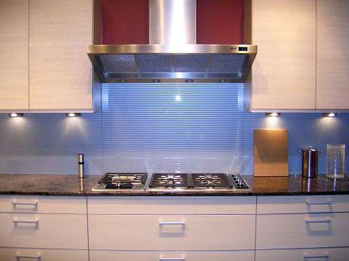 kitchen backsplash glass tile with light under cabinets Kitchen