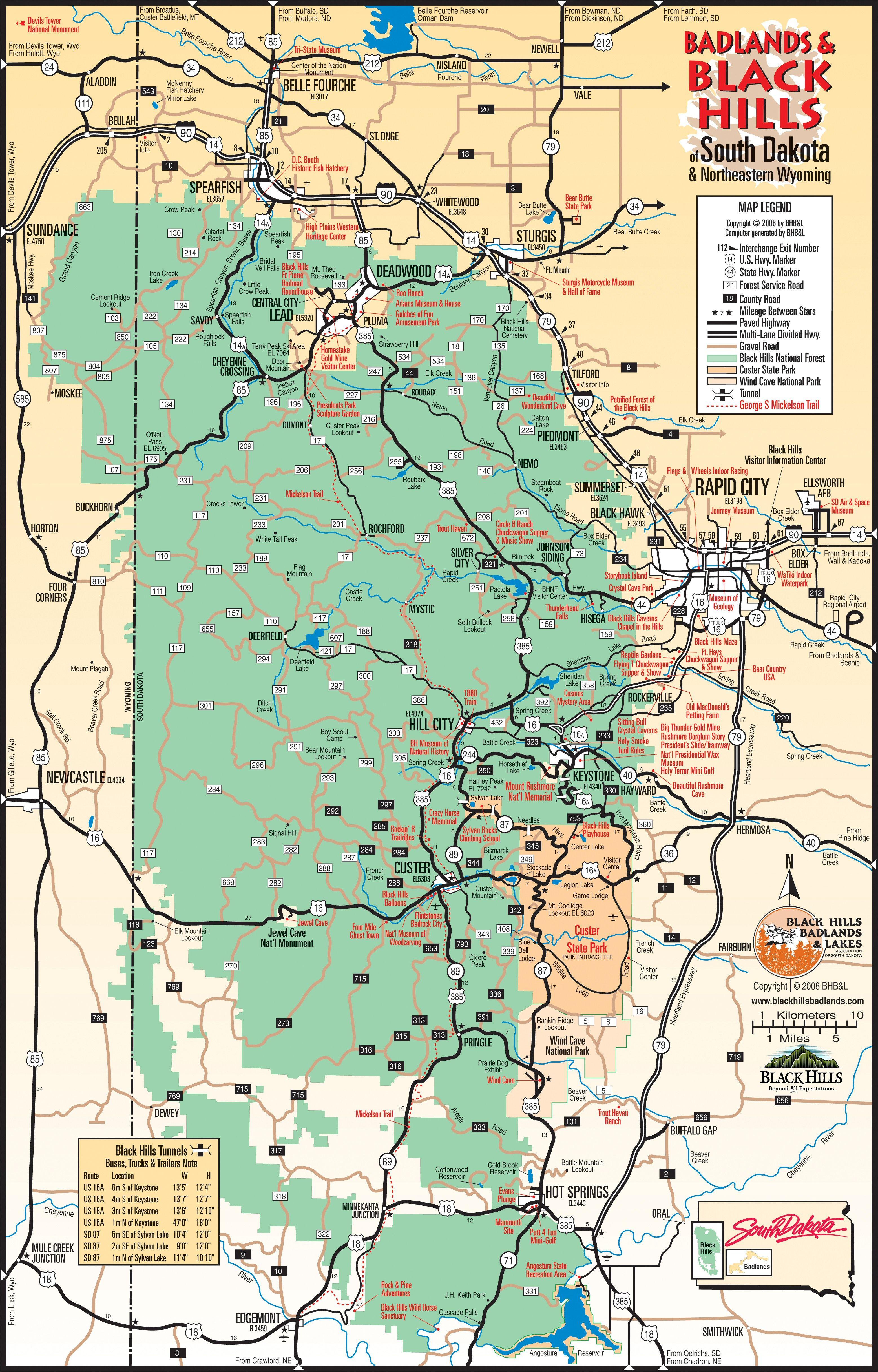 Badlands and Black Hills South Dakota thinking of traveling on