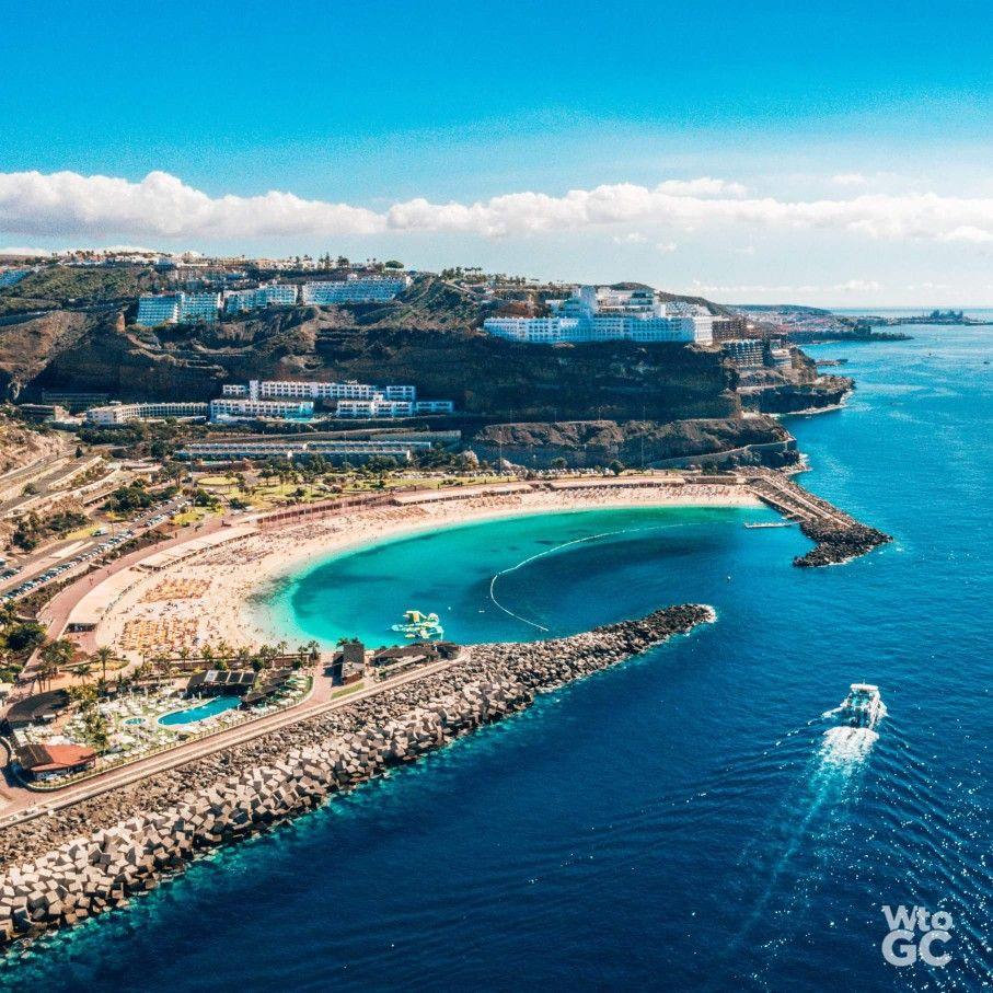 Playa De Amadores Gran Canaria Islas Canarias Viajes Canario