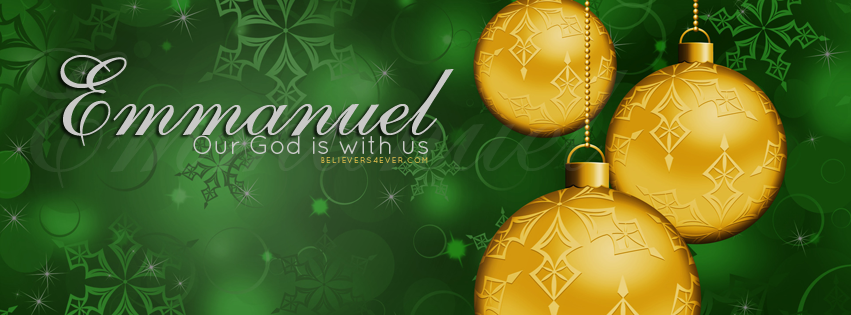 Emmanuel Christian Christmas Facebook cover | Facebook Covers ...