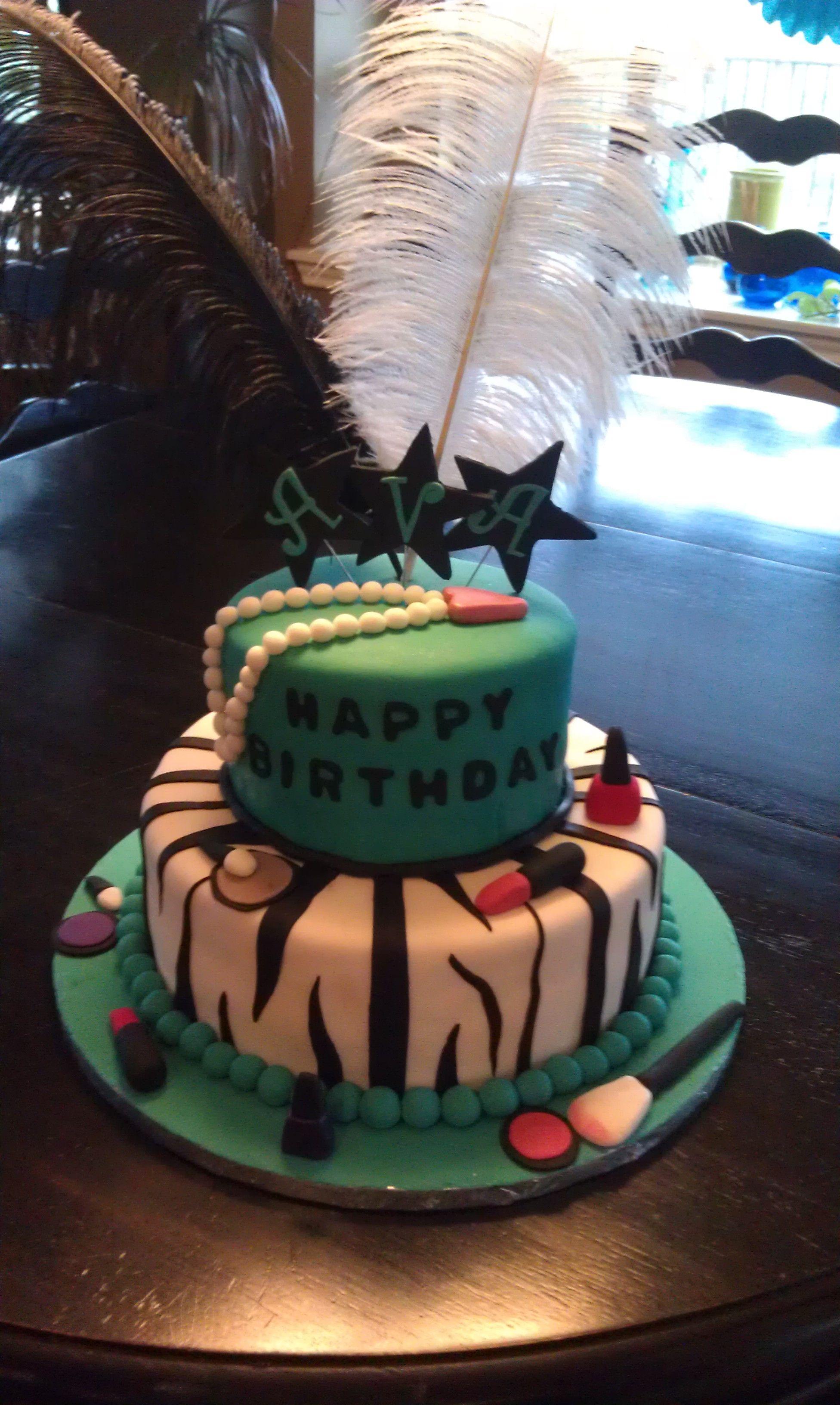 Diva Birthday Cake Cakes Pinterest Cake Birthday Cake And