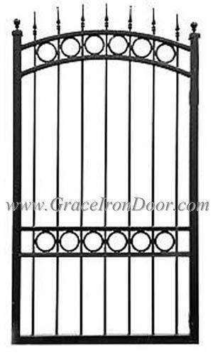 Wrought Iron Garden Gates Antique Uk Cast