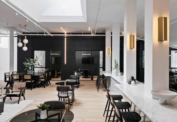 Ufficio Moderno Di Lusso : Il coworking di lusso the new work project a brooklyn new york