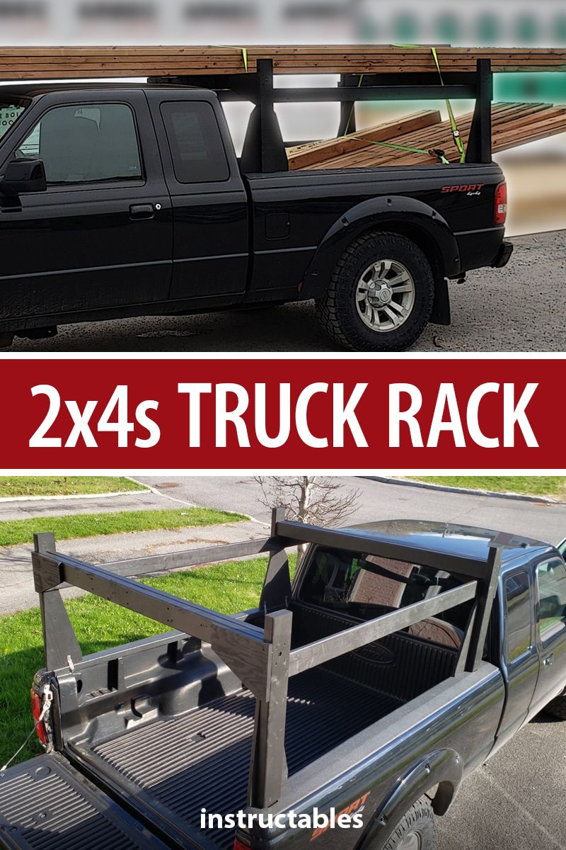 2X4s TRUCK RACK Kayak rack for truck, Kayak rack, Trucks