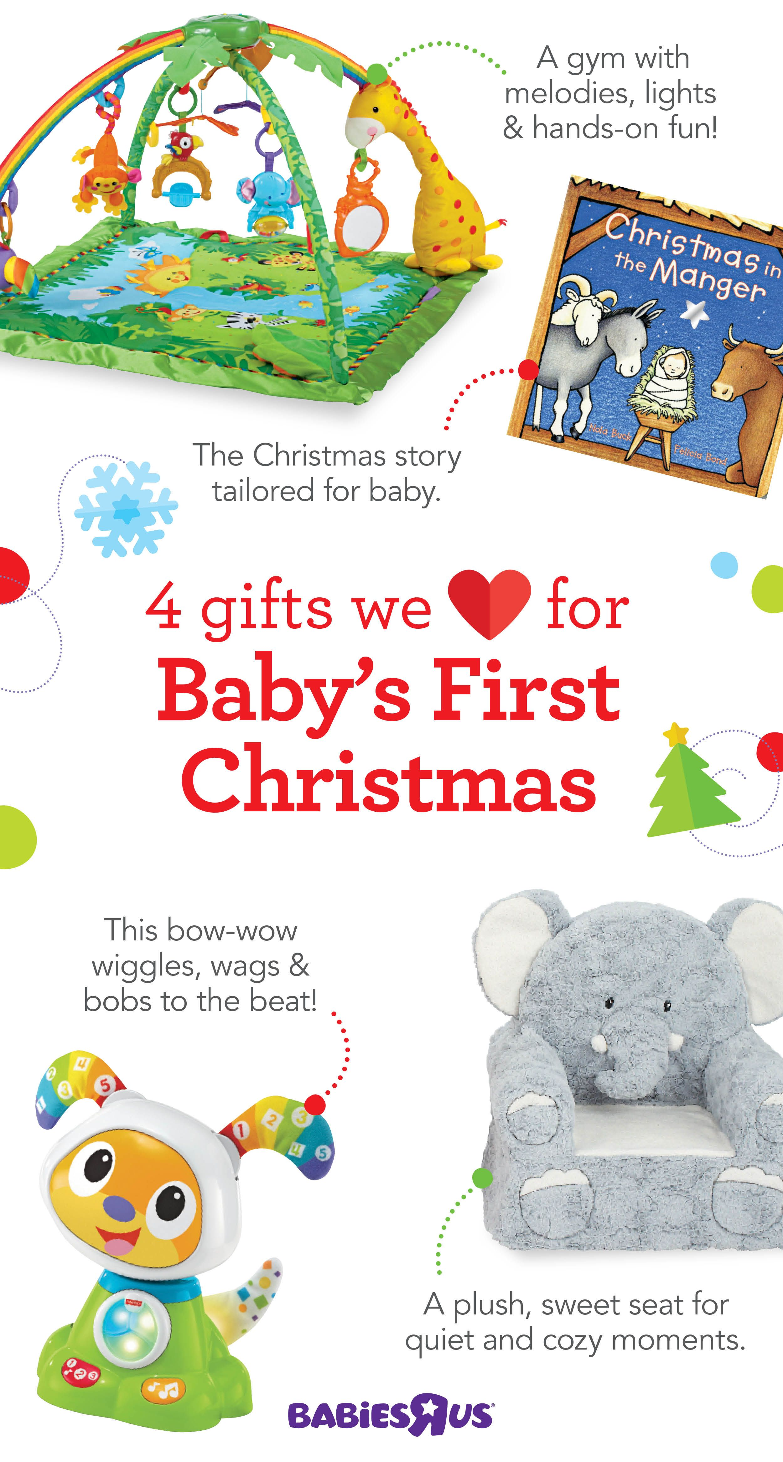 It\'s Baby\'s First Christmas. Time to bring on gifts of joy for every ...