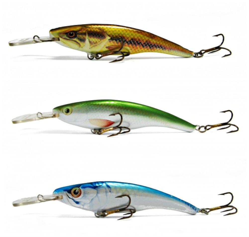 Details about TDM 4 pcs Ugly Duckling Lures, Jointed Balsa