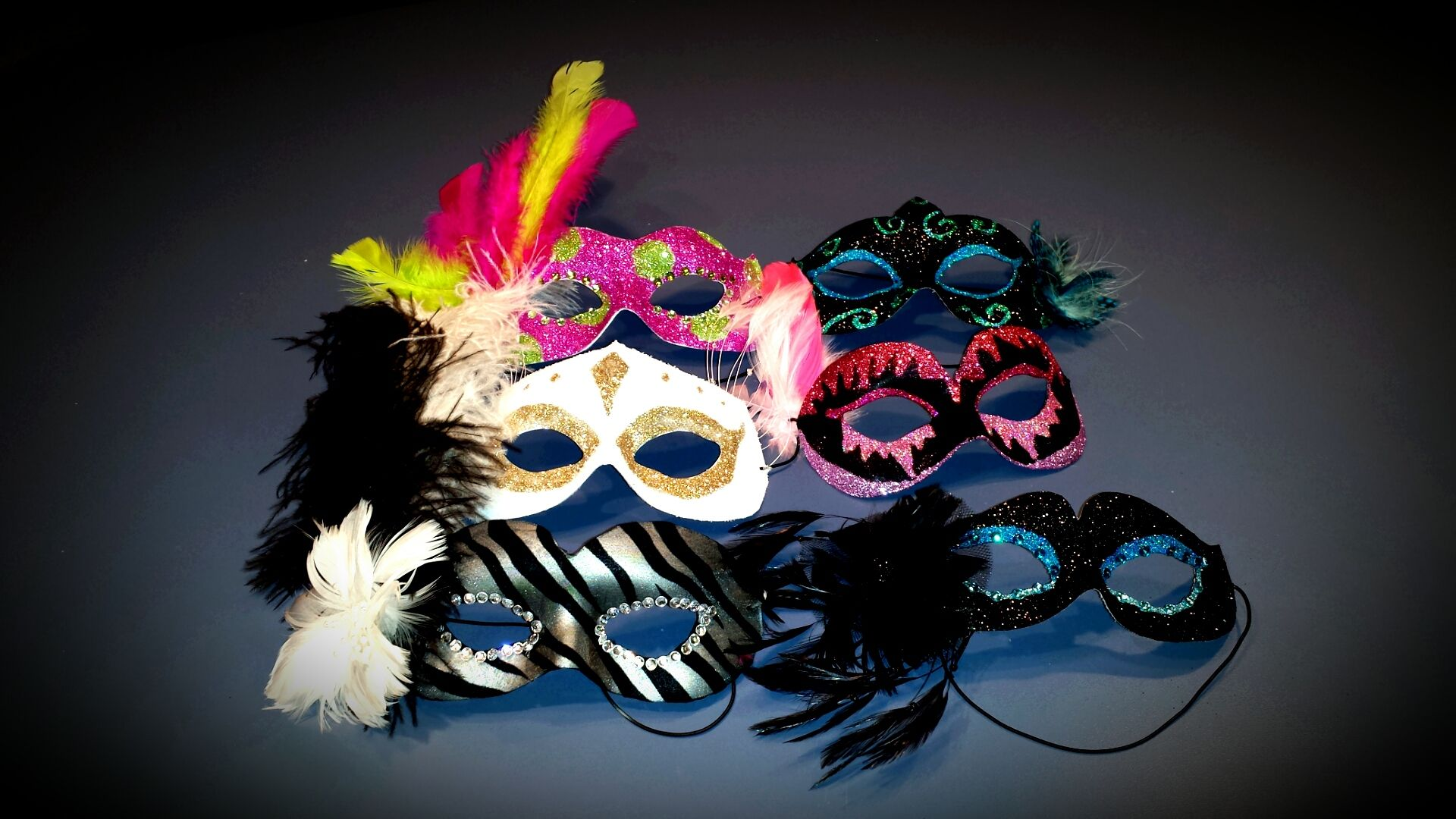 Plain Masks To Decorate Homemade Masquerade Masks Just Need Elmer's Glue Hot Glue