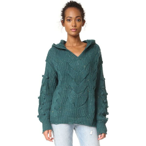 Wildfox Pattie V Neck Sweater ($158) ❤ liked on Polyvore ...