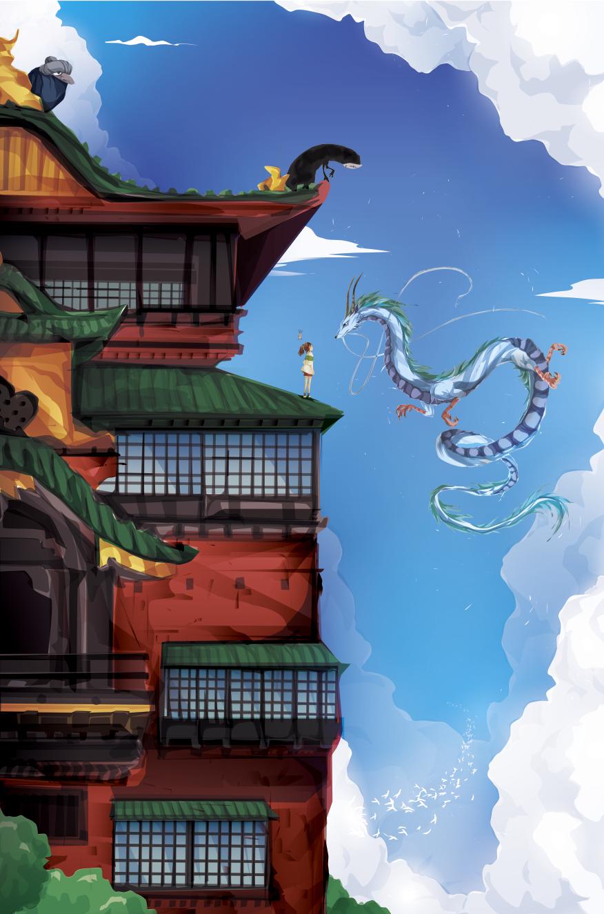Studio Ghibli Fan Art Created by Justin Currie El