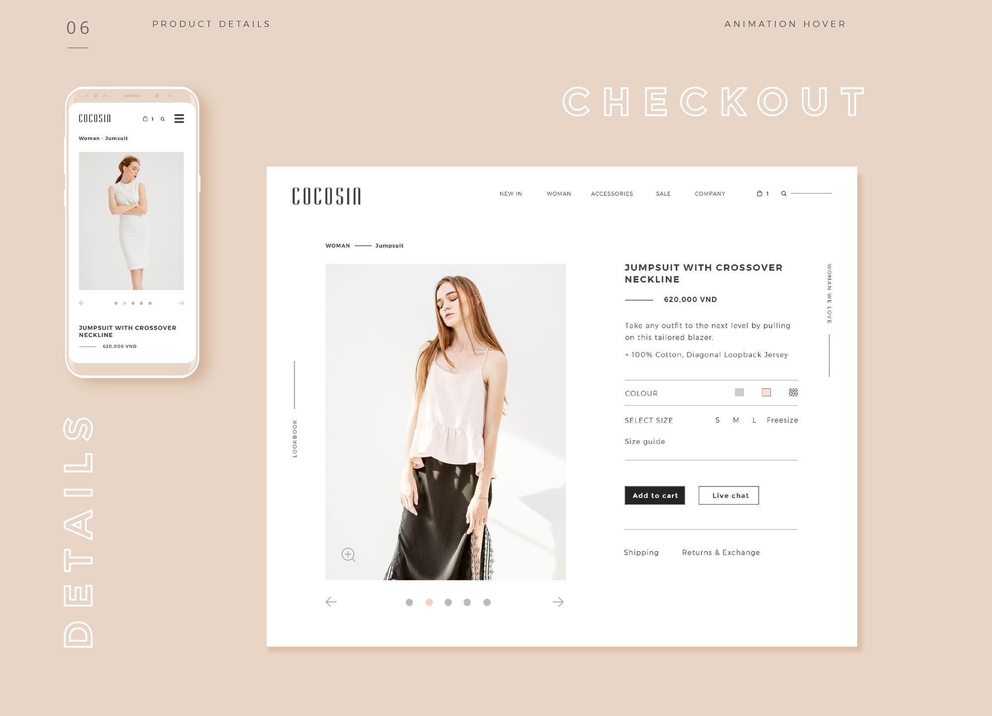 Cocosin Fashion Bratus Web Design Inspiration Website Design Web Design