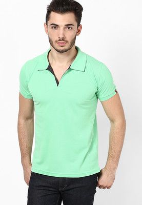 3afe2dd4 Status Quo Green Polo T-Shirt (PRICE : Rs.399) | Jabong Purchases ...