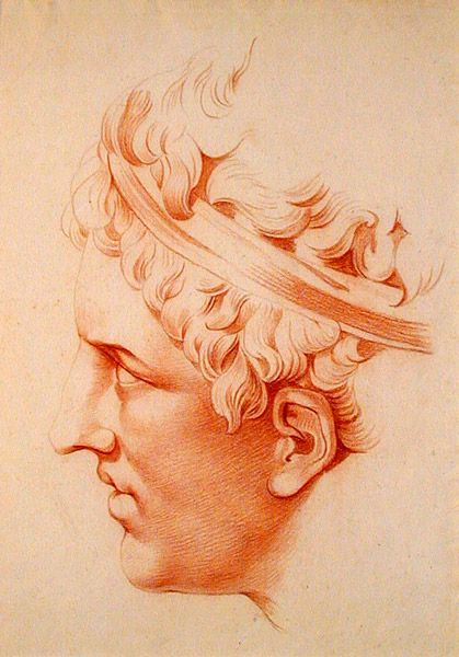 Old Master Drawings: Jean-François de Neufforge (Belgium 1714-1791 France): Men