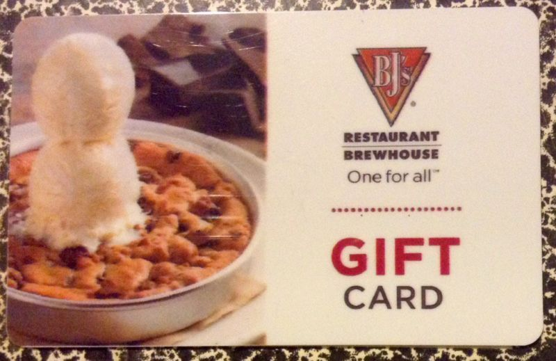 10000 In Bjs Restaurant Brewhouse Gift Card 282549523065
