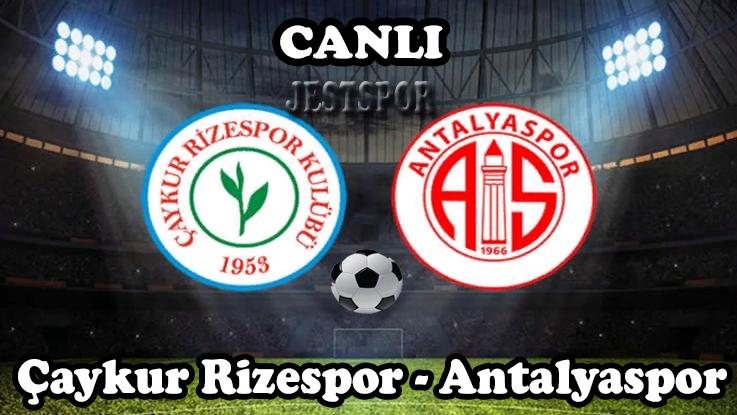 Caykur Rizespor Antalyaspor Jestspor Izle Izleme Spor Futbol
