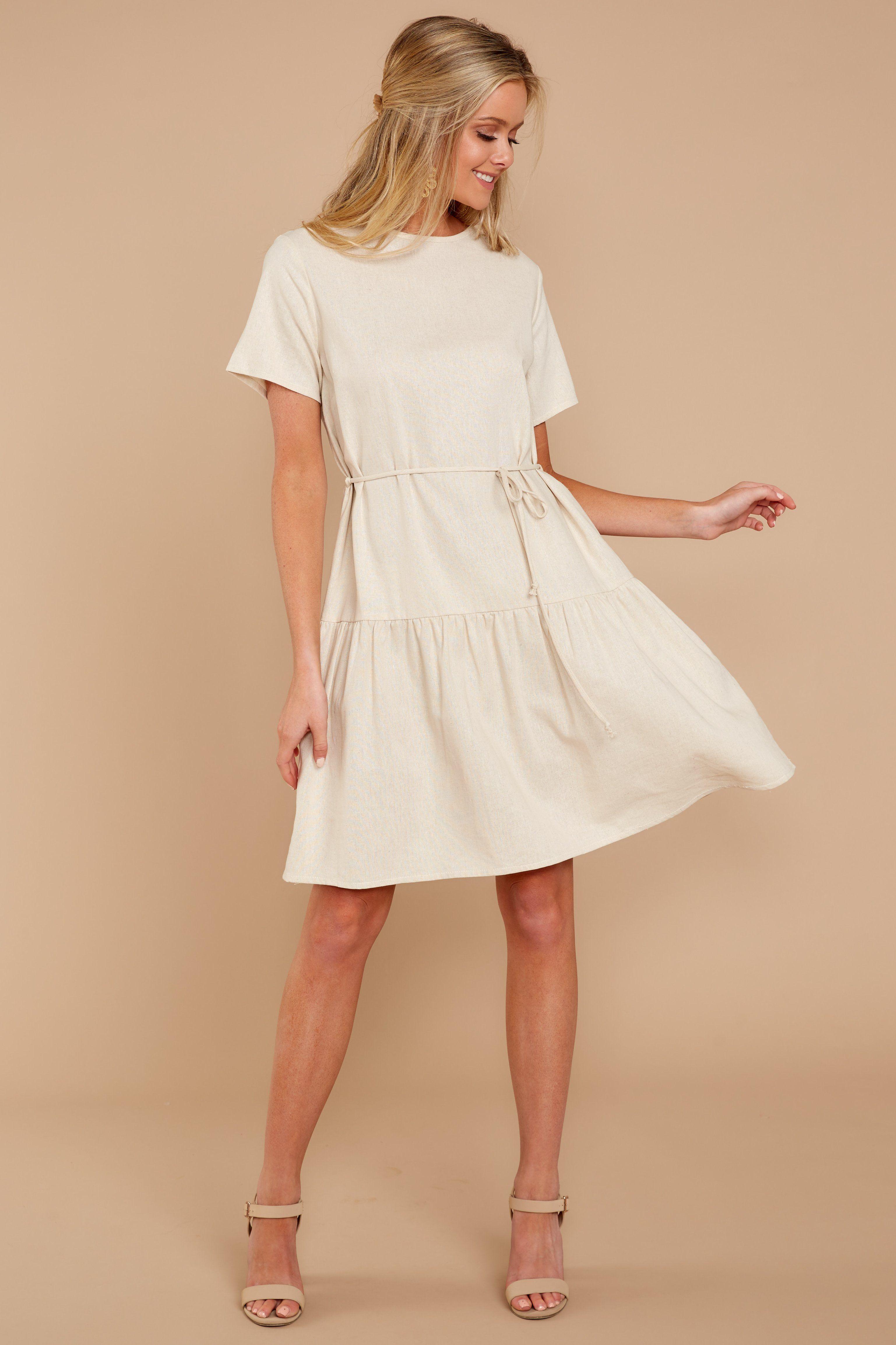 Cute beige dress short beige dress dress u red dress