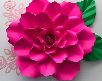 PDF Rose Petal Template, Digital Version - Small Rose 7 to 9 Inches ...