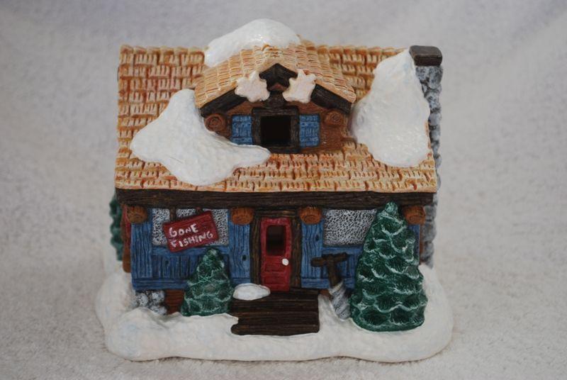 Hunting Lodge 21752 Christmas Crafts Crafts Christmas Village