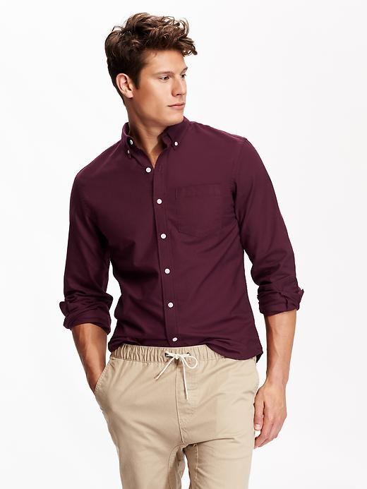Men S Slim Fit Oxford Shirts Wish List Shirts Slim Man Oxford