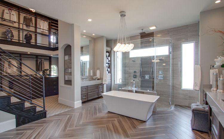 Amazing Bathroom With 2 Story Closet Yessssss Best