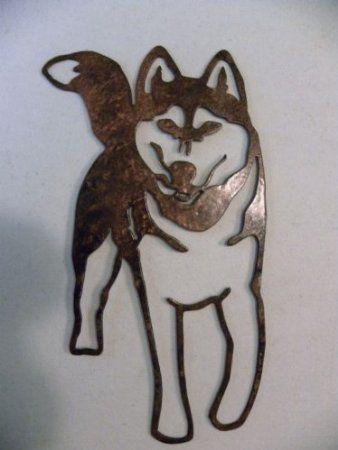 Siberian Husky Dog Metal Wall Art Home Decor Metal Wall Art Art