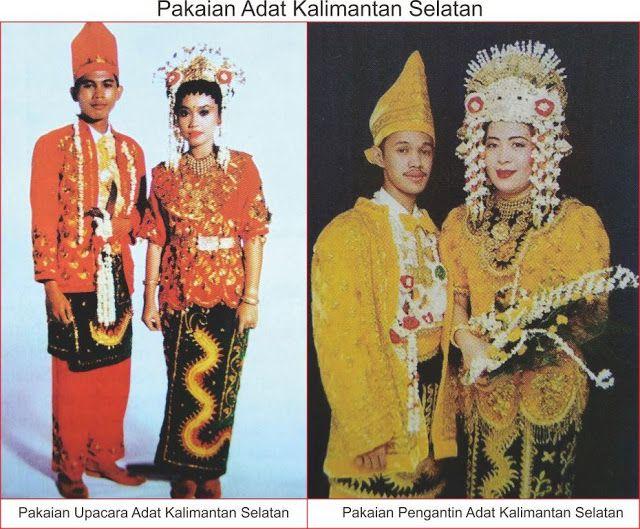 Baju Daerah Kalimantan