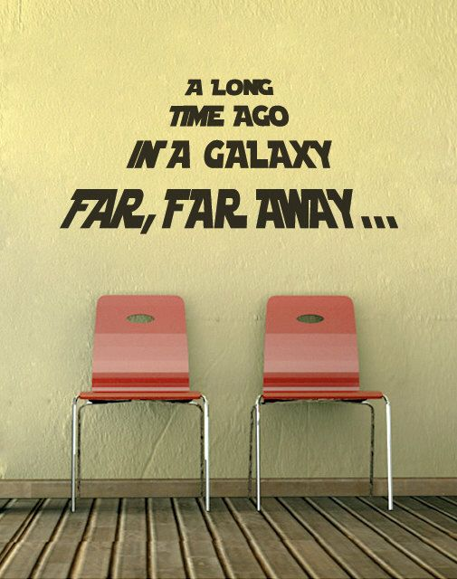 Star wars decal star wars wall decor by newpoint on Etsy https://www ...