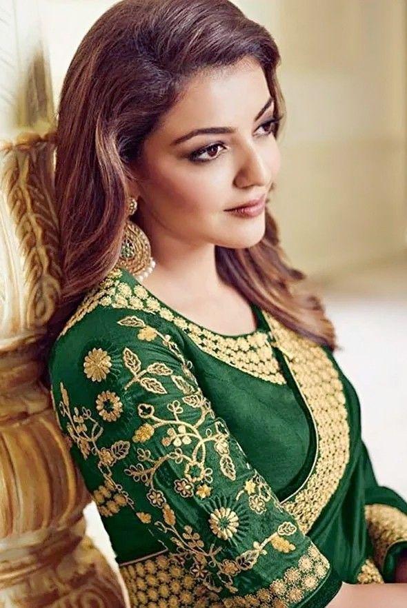 Kajal Aggarwal Indian fashion saree, Beautiful saree
