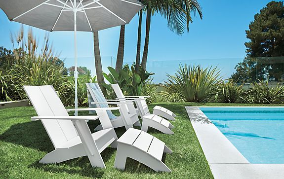 A Trio Of Emmet Lounge Chairs   Outdoor   Room U0026 Board