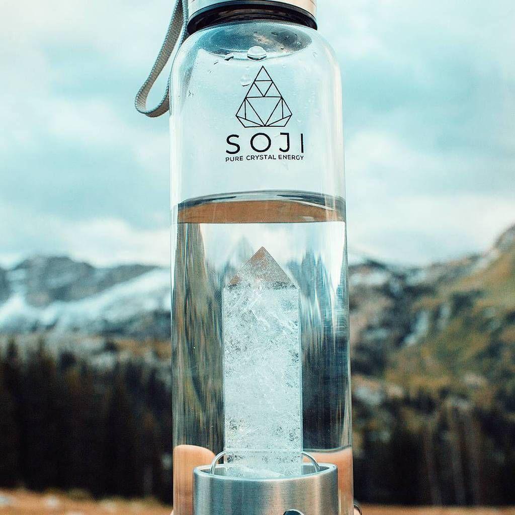Clear Quartz Crystal Gem Elixir Water Bottle | Fun stuff I