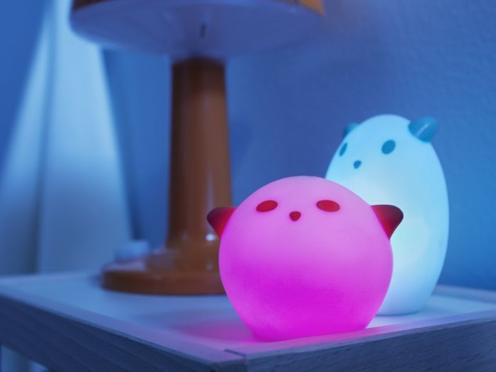 led night light sp ka animal white red lights bedrooms. Black Bedroom Furniture Sets. Home Design Ideas