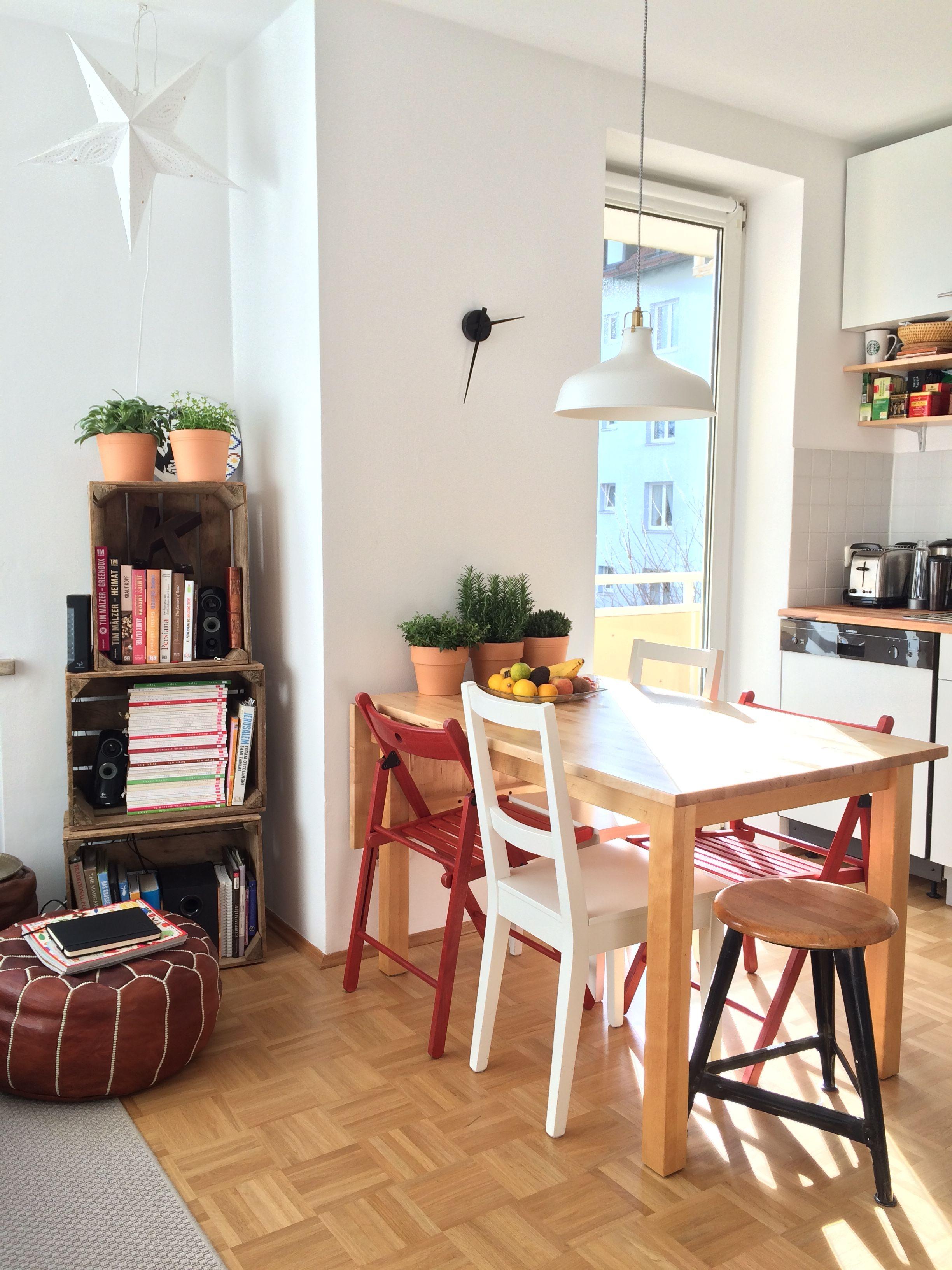 How to decorate small apartments. #tiny #oneroom #interior © B.K. 2016