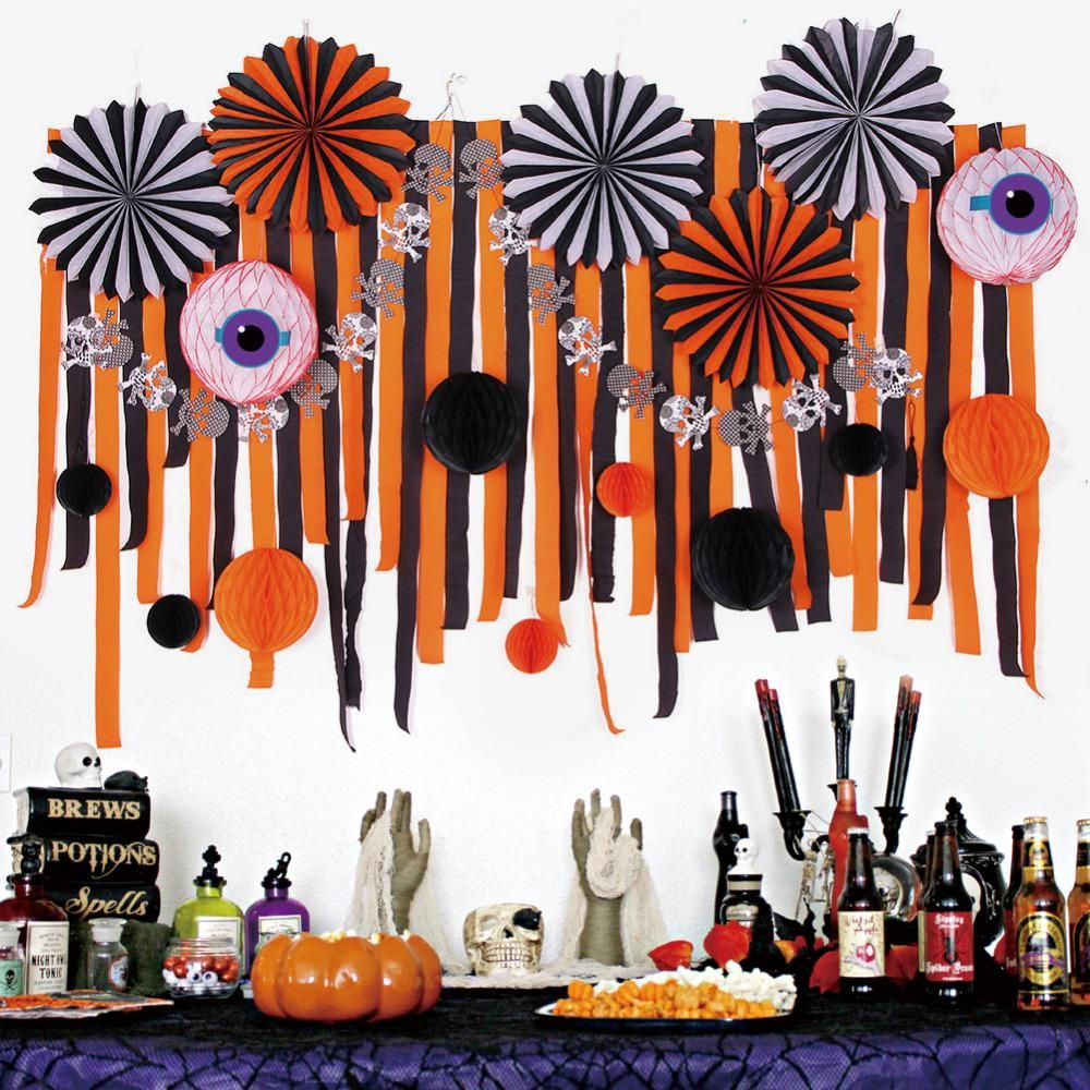Halloween Decoration Set Decoration, Halloween parties and Streamers - Kids Halloween Decorations