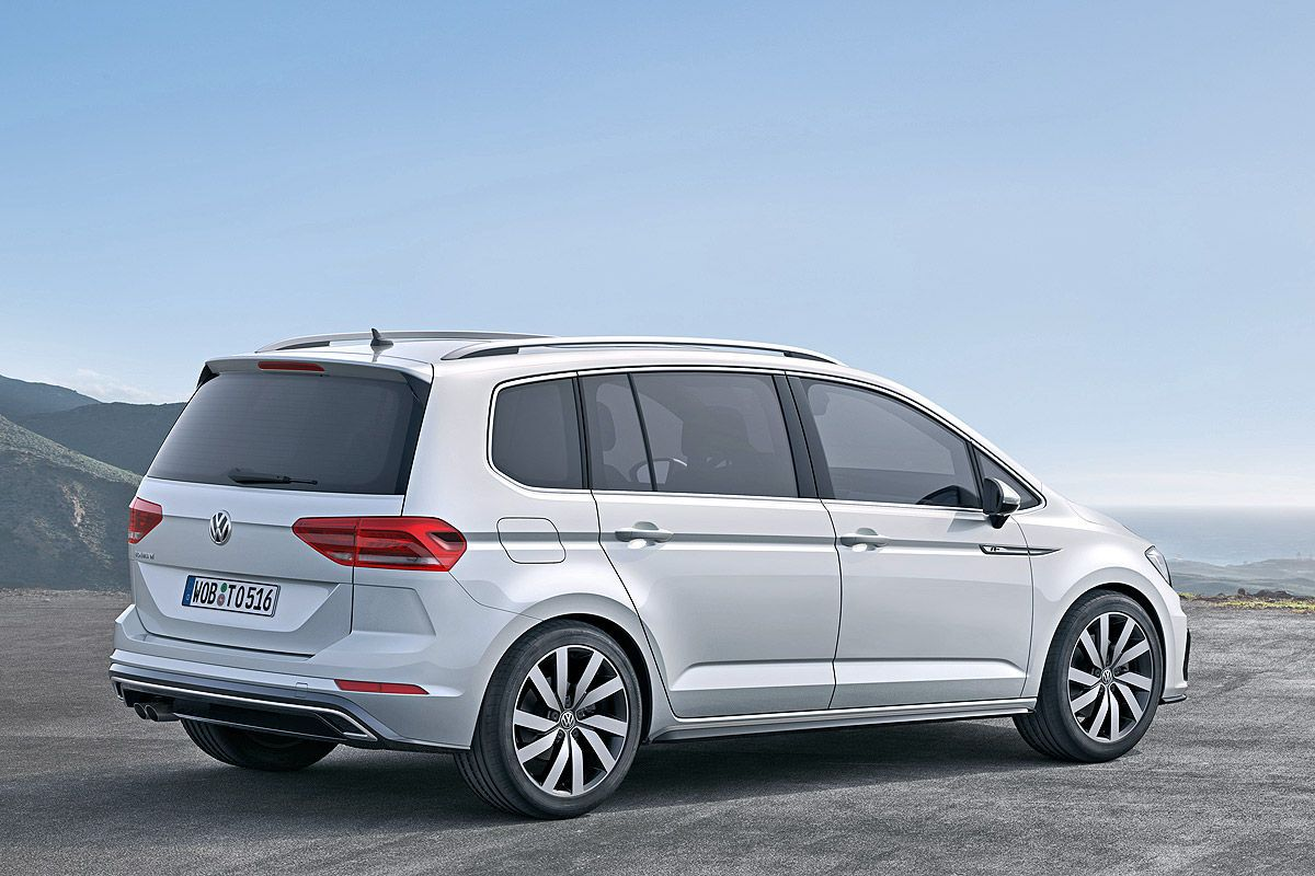 Vw Tiguan Ii Und Weitere Vw Neuheiten Bis 2019 Vw Touran Volkswagen Touran Volkswagen