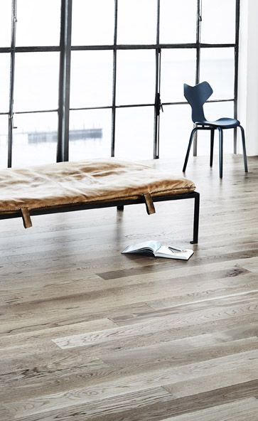 Junckers Driftwood Grey Oak solid wood floor www.junckers.co.uk