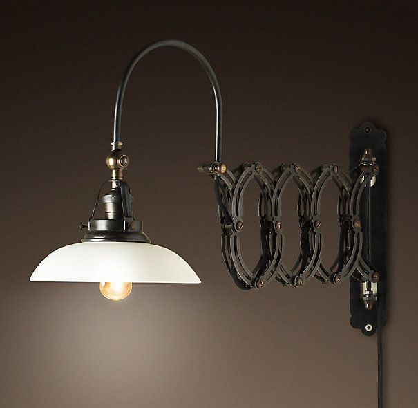1950s Factory Scissor Sconce Dating To L950s Italy, This Mid Century Scissor  Sconce Was