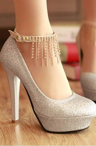 salto alto branco para noiva - Pesquisa Google  a12eb8427398