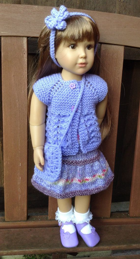 Hand Knit Skirt Set for Kidz n Cats and Similar Slim by UKgr8KNITS