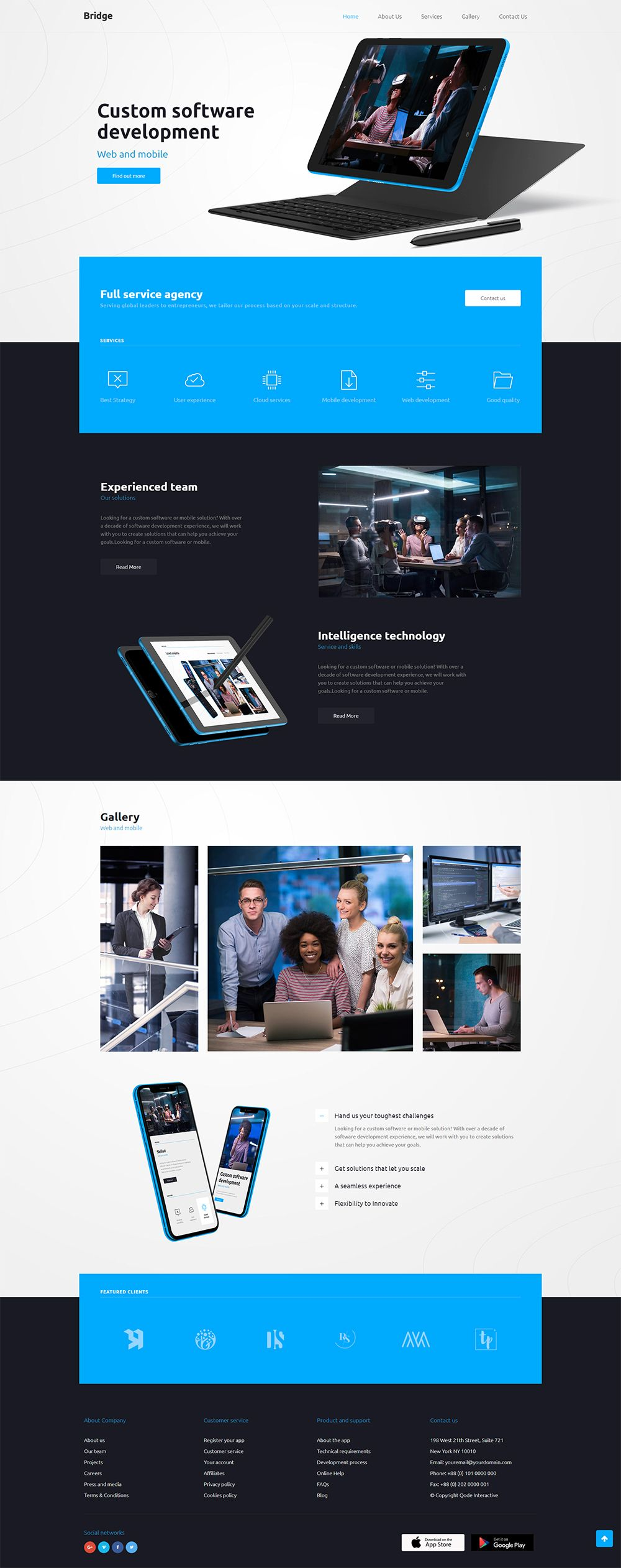 25 Best technology template design for April 2020