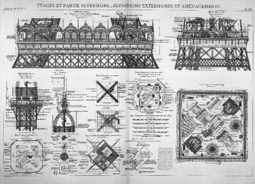 timeline of eiffel tower construction - Google Search - construction timeline