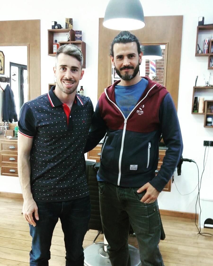 #Barbershop #barbershop #barberia#barber#barbazul #Depor #Deportivo #Luisinho #Coruña#Matogrande#Liceo#futbol #futbolista#hairstyle# by barberiamatogrande