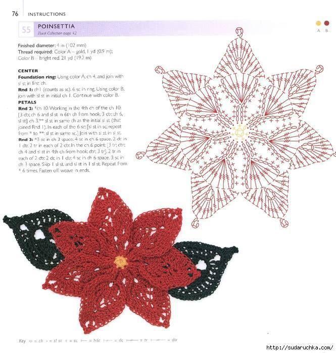 Navidad: Estrella federal | Csipkézők | Pinterest | Federal ...